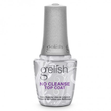 No Cleanse Top Coat 15ml - GELISH - bezvýpotková vrchná vrstva gél laku
