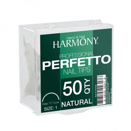 Perfetto Natural  4 - 50ks - GELISH - prirodzene pôsobiace tipy na nechty veľkosti 4