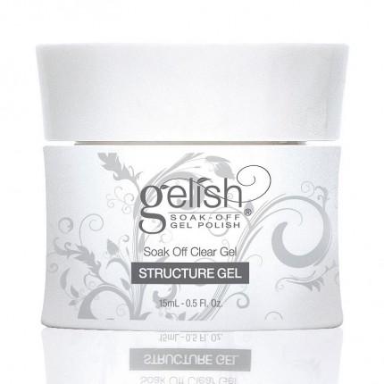 Structure Clear Gel 15ml - GELISH - spriehľadný, spevňujúci gél na nechty