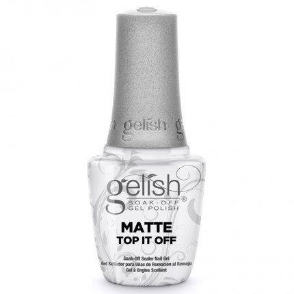 Matte Top It Off 15ml - GELISH - zmatňujúca vrchná vrstva gél laku na nechty