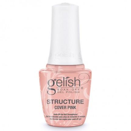 Structure Cover Pink 15ml - GELISH - krycí ružový, spevňujúci gél na nechty