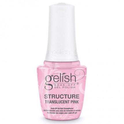 Structure Translucent Pink 15ml - GELISH - priehľadne ružový, spevňujúci gél na nechty