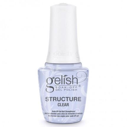 Structure Clear 15ml - GELISH - priehľadný, spevňujúci gél lak na nechty