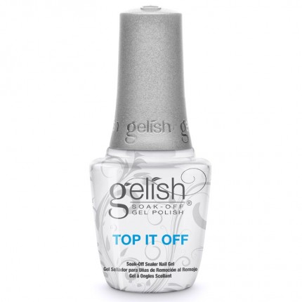 Top It Off 15ml - GELISH - vrchná vrstva gél laku na nechty