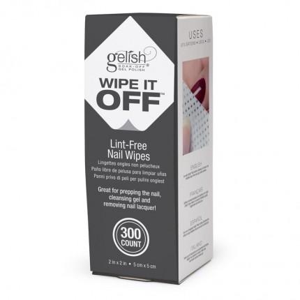 Wipe It Off 300ks - GELISH - čistiace tampóny