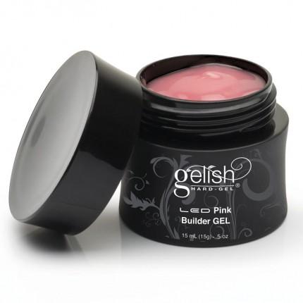 Hard-Gel Pink Builder Gel 15ml - GELISH - ružový stavebný gél na nechty