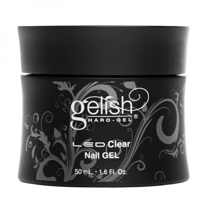 Hard-Gel Clear Gel 50ml - GELISH - priehľadný spevňovací gél na nechty