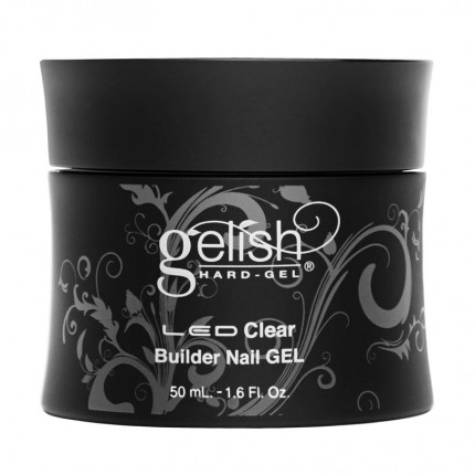 Hard-Gel Clear Builder Gel 50ml - GELISH - priehľadný stavebný gél na nechty