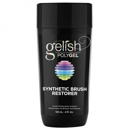 Polygel Synthetic Brush Restorer 120ml - GELISH - roztok na čistenie štetca