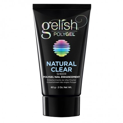 Polygel Natural Clear 60g - GELISH - stavebný polygél