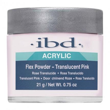 FLEX Translucent Pink 21g - IBD - ružový akrylový prášok