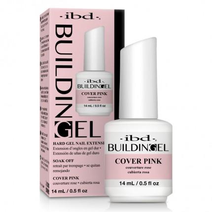 Building Gel Cover Pink 14ml - IBD - stavebný odlakovateľný ružový gél