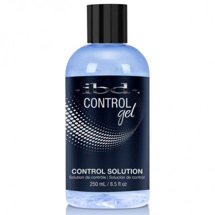 Control Solution 250ml - IBD Control Gel - roztok na tvarovanie hybridného gélu na nechty