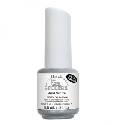 Just White 14ml - IBD JustGel - gél lak na nechty