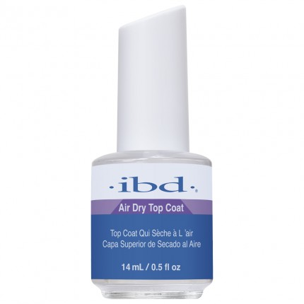 Air Dry Topcoat 14ml - IBD - vrchná vrstva na laky, gély a akryly
