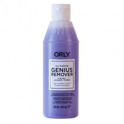 Genius Remover 237ml - ORLY viacúčelový odlakovač na nechty