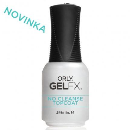No Cleanse Topcoat 18ml - ORLY GELFX - bezvýpotková vrchná vrstva gél laku na nechty