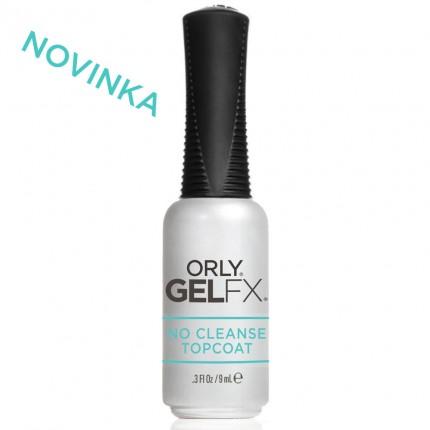 No Cleanse Topcoat 9ml - ORLY GELFX - bezvýpotková vrchná vrstva gél laku na nechty