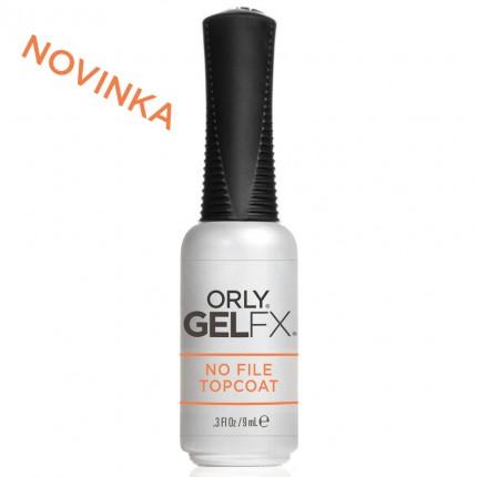 No File Topcoat 9ml - ORLY GELFX  - vrchná vrstva gél laku na nechty