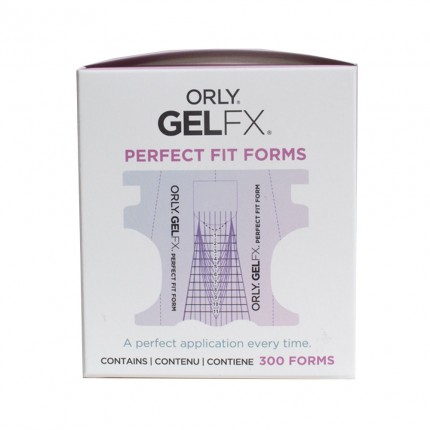 Gel FX Perfect Fit Nail Form (šablóna) 300ks