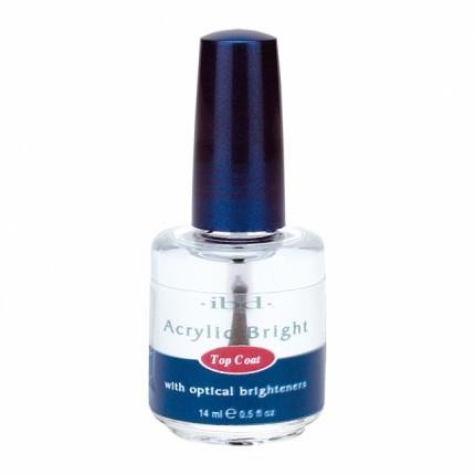 Acrylic Bright Topcoat 14ml - IBD - vrchná vrstva na akryly a gely