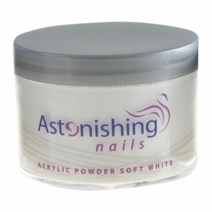 Acrylic Powder Soft White 100 g
