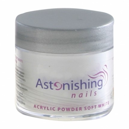 Acrylic Powder Soft White 25 g