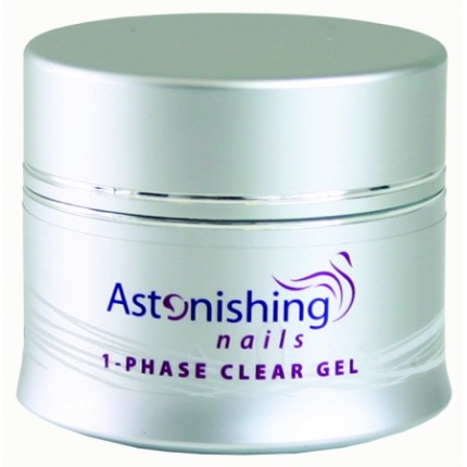 UV 1-Fase Clear Gel 45g - ASTONISHING - číry UV gél