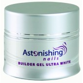 UV Builder Gel Ultra White 25g - ASTONISHING - UV ultra biely stavebný gél