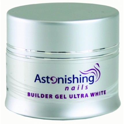 UV Builder Gel Ultra White 25g - ASTONISHING - UV ultra biely stavebný gél