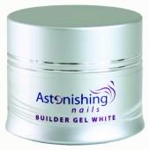 UV Builder Gel White 45g - ASTONISHING - UV biely stavebný gél