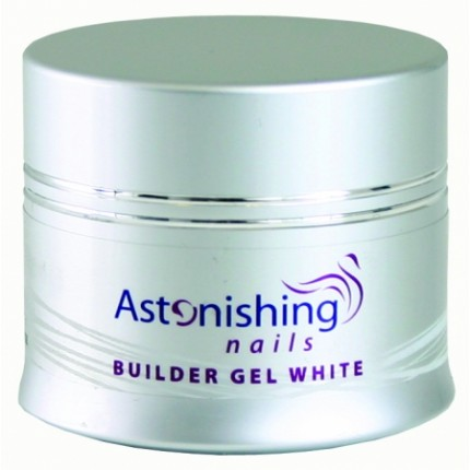 UV Builder Gel White 45g - ASTONISHING - UV biely stavebný gél