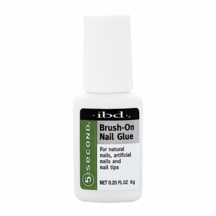 Brush-On Nail Glue 6g - IBD - lepidlo na nechty
