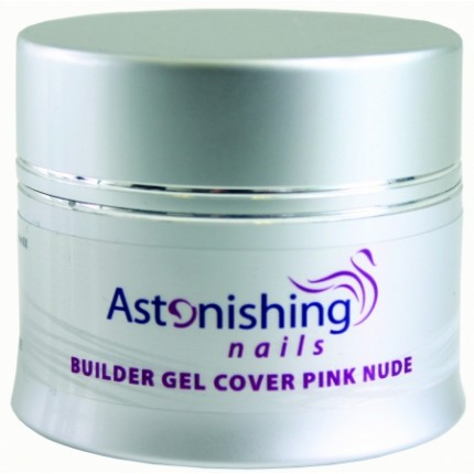 UV Builder Gel Cover Pink Nude 14g - ASTONISHING - UV ružový stavebný gél