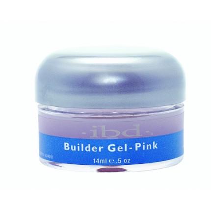 UV Builder Gel Pink 14ml - IBD ružový stavebný gél na nechty