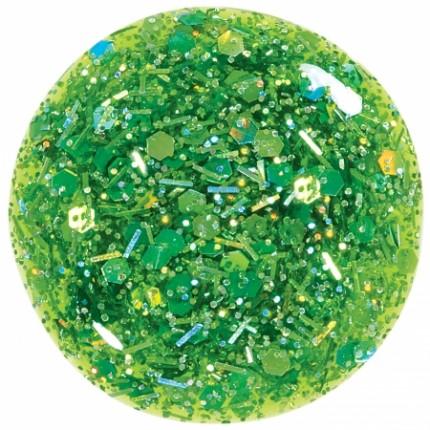 CB Lak Lime Green Chunky Glitter 11ml
