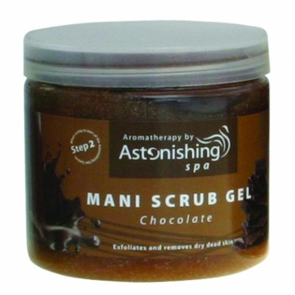 Mani Scrub Gel Chocolate 454 g