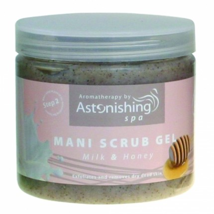 Mani Scrub Gel Milk & Honey 454 g
