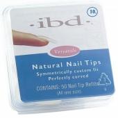 Natural tipy 10 - 50 ks - IBD - prirodzene pôsobiace tipy na nechty veľkosti 10