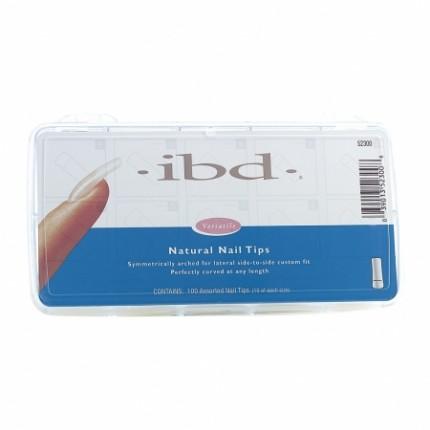 Natural tipy sada 100ks - IBD - sada prirodzene pôsobiacich tipov na nechty