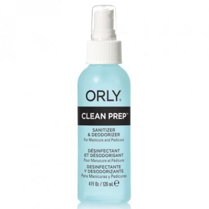 Clean Prep 118ml - ORLY - prípravok na čistenie a dezinfekciu